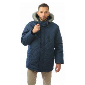 Куртка мужская зимняя Аляска синяя