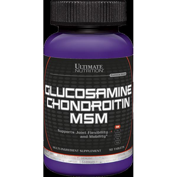Глюкозамин Хондроитин МСМ 90 таб. ULT (USA)