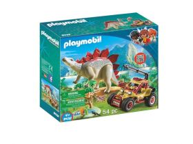 Набор playmobil 9432 Проводник со стегозаврами