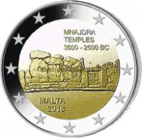 Мальта 2 евро 2018, Храмовый комплекс Мнайдра