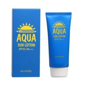 Secret Key Thanakha Aqua Sun Lotion SPF35 PA+++ 100g - Солнцезащитный лосьон