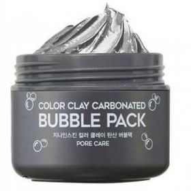 Berrisom G9 Skin Color Clay Carbonated Bubble Pack 100ml - маска глиняно пузырьковая для лица
