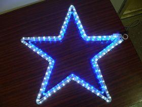 мотив светодиодный Звезда диаметр 60см
