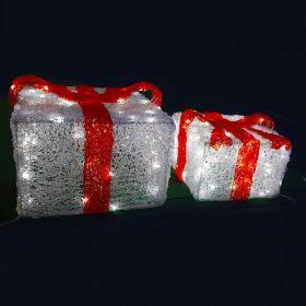 мотив светодиодный 3Д поздравительная коробка 40*40см
