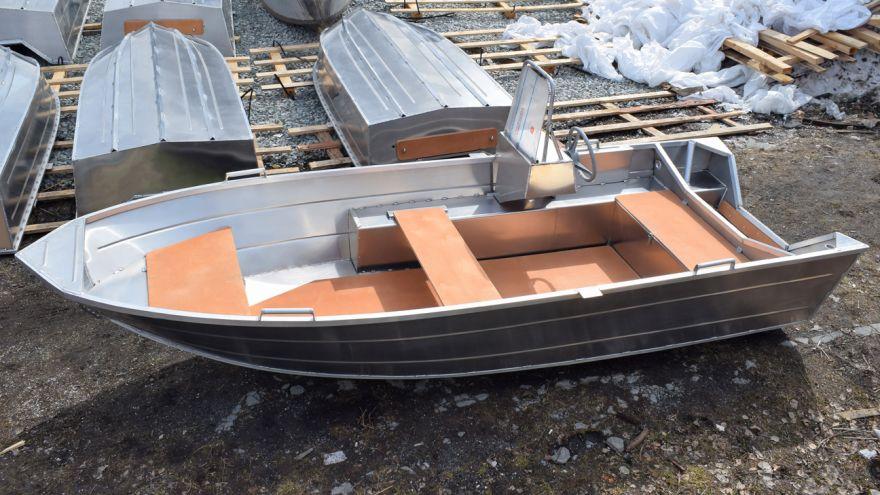 Алюминиевая лодка ВИЗА Алюмакс-415