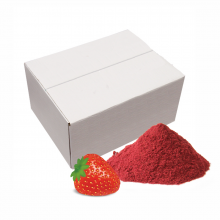 Freeze dried Strawberry powder, 10kg carton box