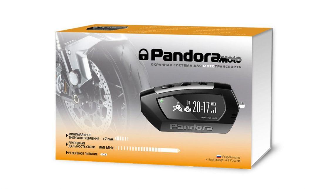Мотосигнализация Pandora Moto (DX 42)