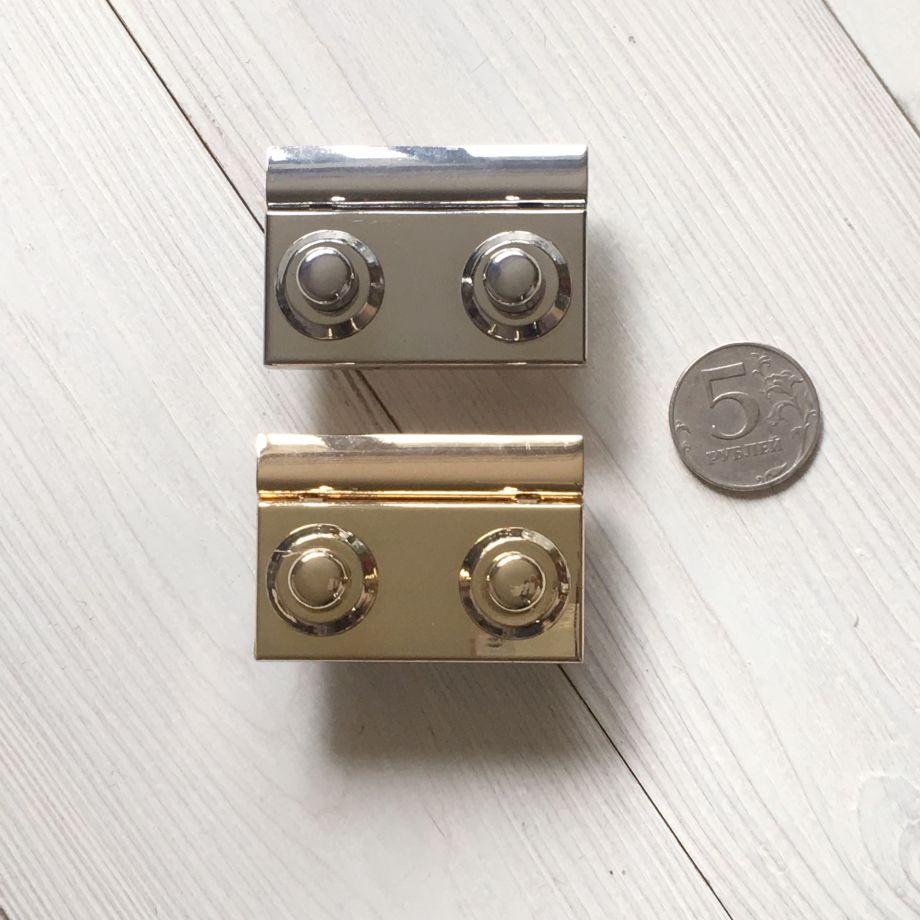 Замок С двумя кнопками