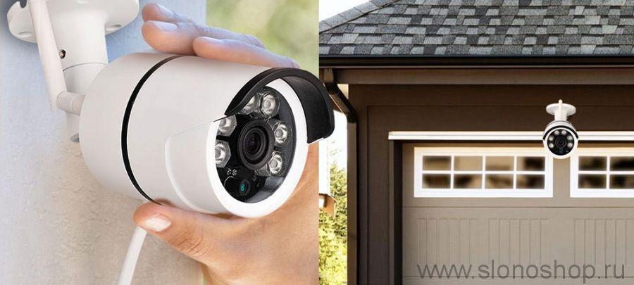 Беспроводная уличная IP WiFi камера с микрофоном 720P HD Sdeter