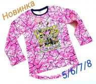 """Туника для девочки"""" PINK"""" 5-8 лет №ФС021"""