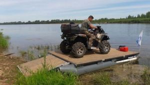 Самоходный грузовой понтон Swimmer 400