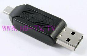 Адаптер Flash-карт (SD, MicroSD) + OTG MicroUSB