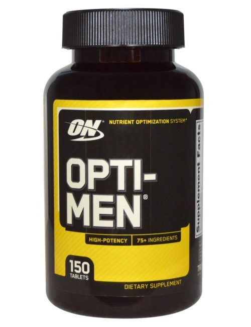 Витамины Opti-Men (Optimum Nutrition) 150 твбл.