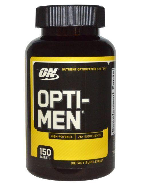 Витамины Opti-Men (Optimum Nutrition) 150 твбл.