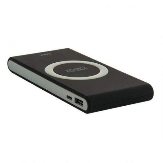 Аккумулятор внешний универсальный & беспроводное зарядное устройство Hoco B32- 8 000 mAh (USB:5V-2.1A)