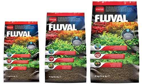 Fluval - грунт для креветок и растений