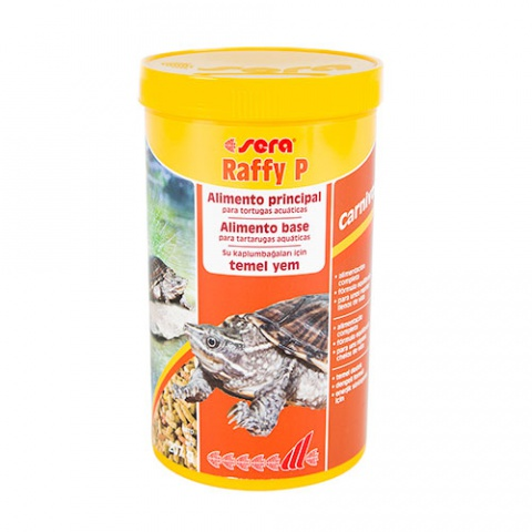 Sera Raffy P основной корм для водяных черепах 100мл / 250 мл