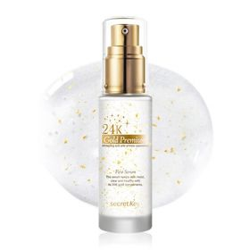 Secret Key 24K Gold Premium First Serum 30ml - омолаживающая сыворотка для лица с золотом