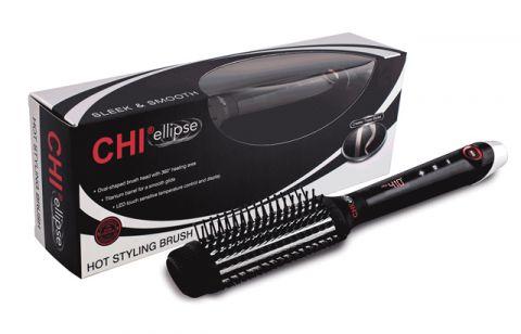 Расческа-выпрямитель для волос электрическая CHI ELLIPSE TITANIUM