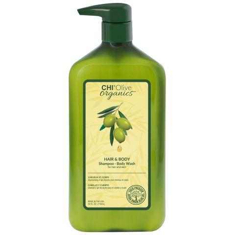 Шампунь CHI OLIVE ORGANICS для волос и тела, 710 мл