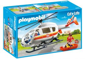 "Набор playmobil 6686 ""Вертолет скорой помощи"""
