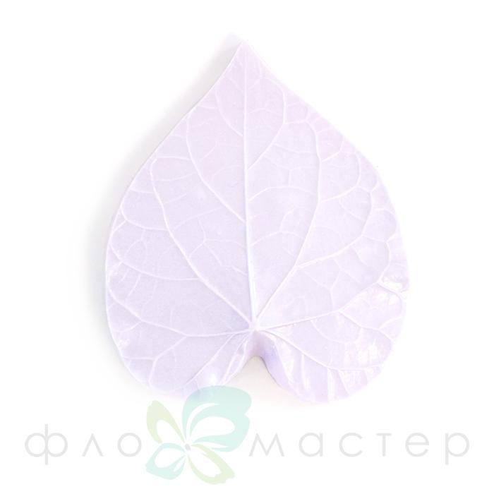 Молд лист декоративного вьюнка большой