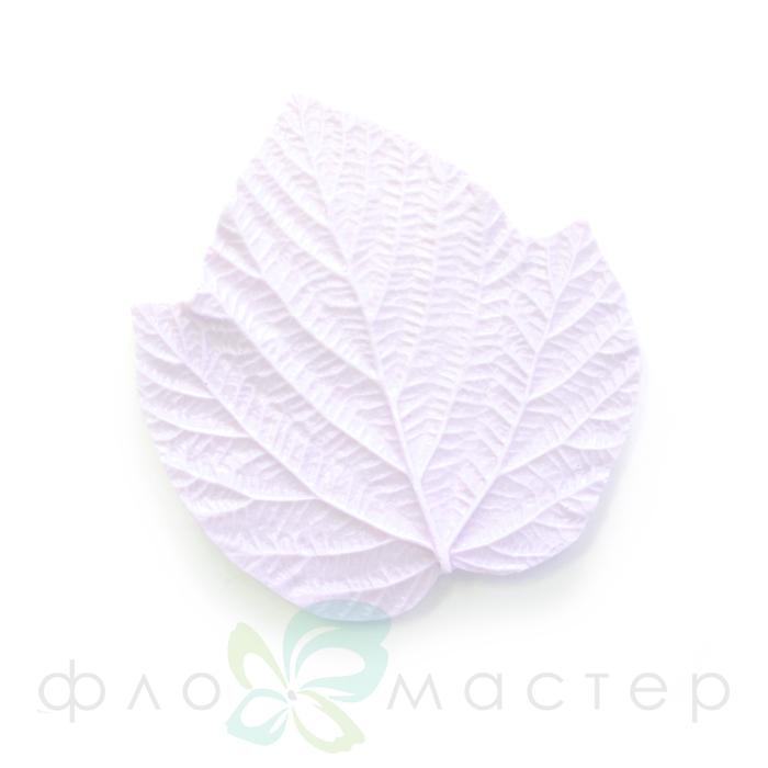 Молд лист малины тройной большой