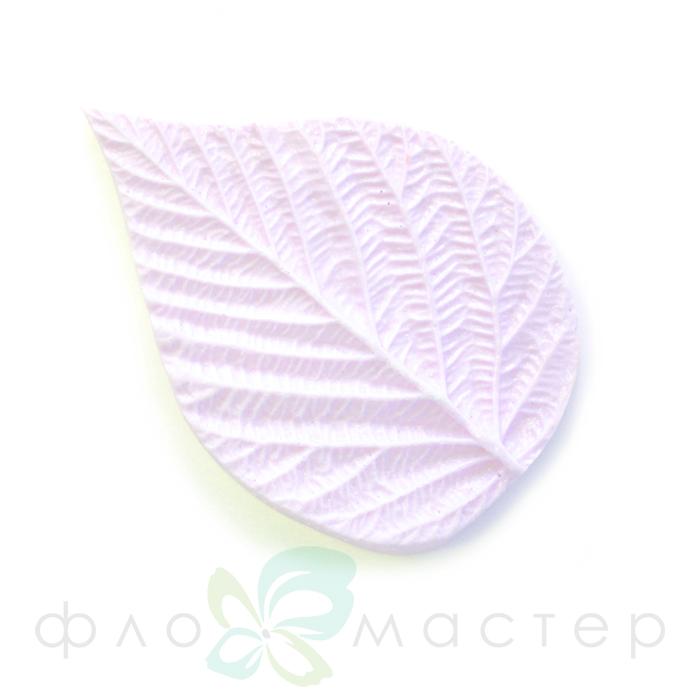 Молд лист малины одинарный маленький