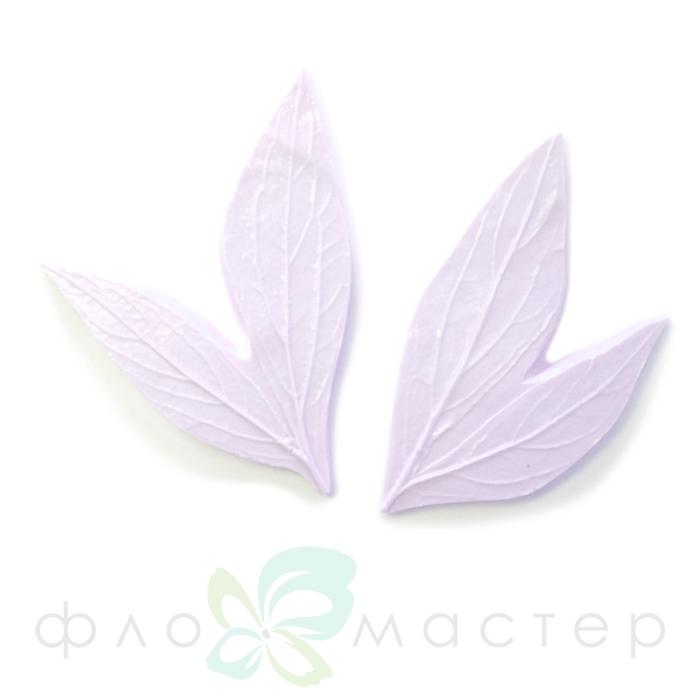 Набор молдов листья пиона большой (2шт)