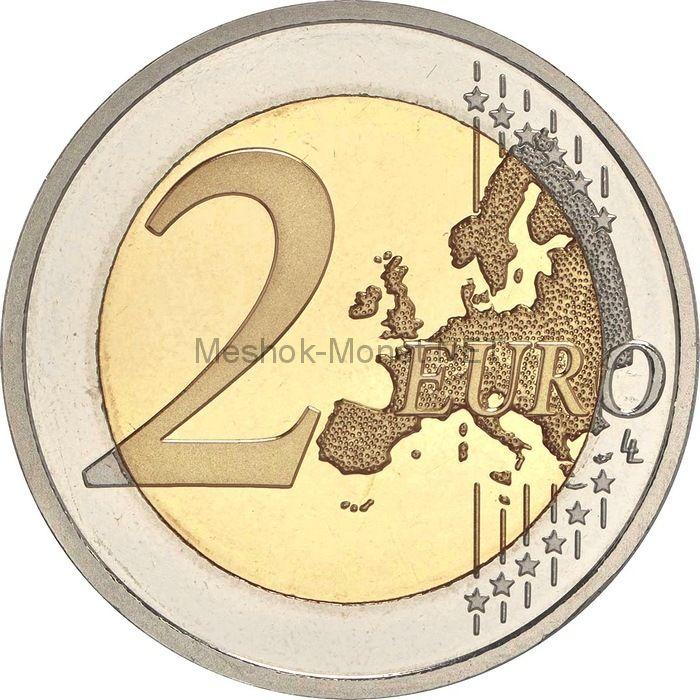 Германия 2 евро 2013, Баден-Вюртемберг. 5 монет, все монетные дворы (A,D,F,G,J)