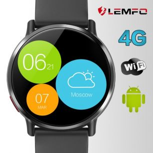 Смарт часы LEMFO LEM X Android 7.1 4G LTE IP67