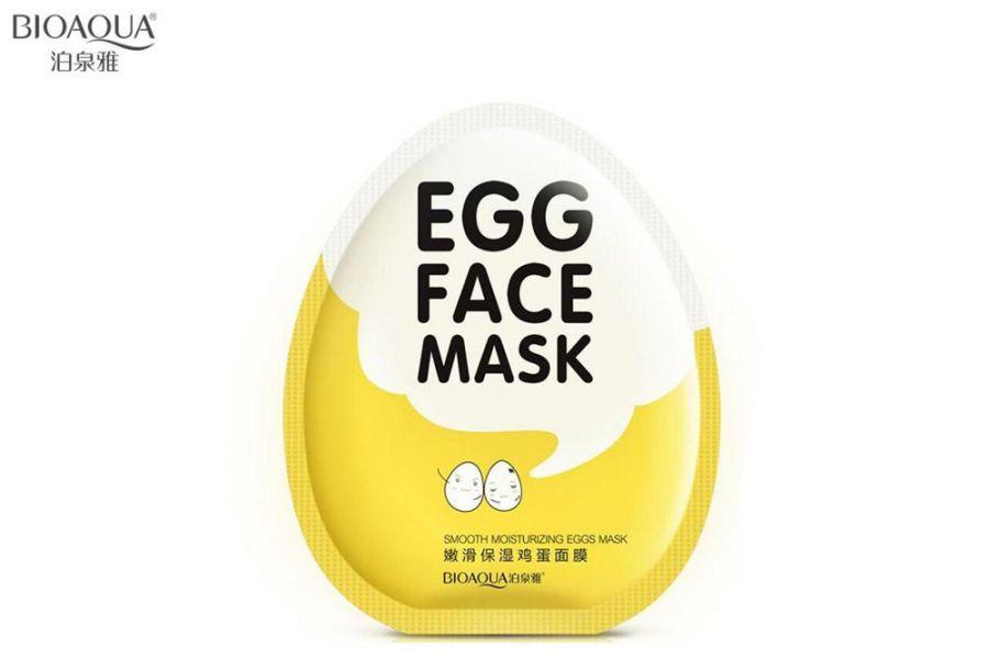 Тканевая маска для лица BioAqua Egg Face Mask