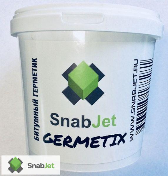 Битумный герметик для универсального ремонта SnabJet GERMETIX