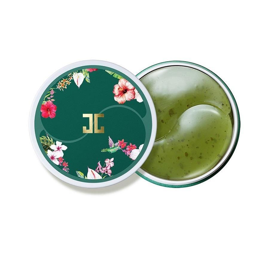 Гидрогелевые патчи с лепестками зелёного чая Jayjun Green Tea Eye Gel Patch