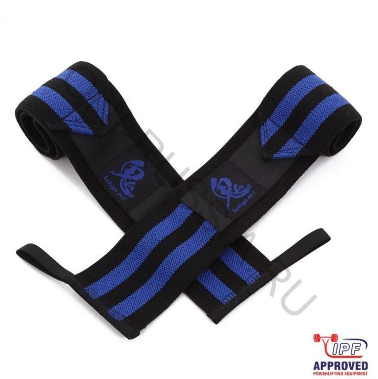 Кистевые бинты Oni Blue wrist wraps IPF approved