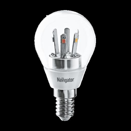 Лампа G45 светодиодная 5 Вт. CL Navigator Е14