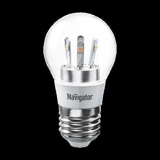 Лампа G45 светодиодная 5 Вт. CL Navigator Е27