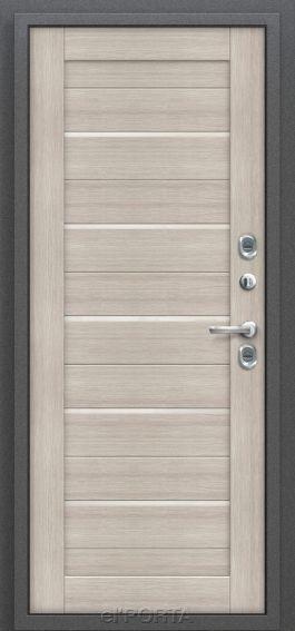 Входная дверь с терморазрывом Термо 222| Cappuccino Veralinga