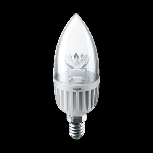 Лампа C37 светодиодная 7 Вт. CL Navigator Е14