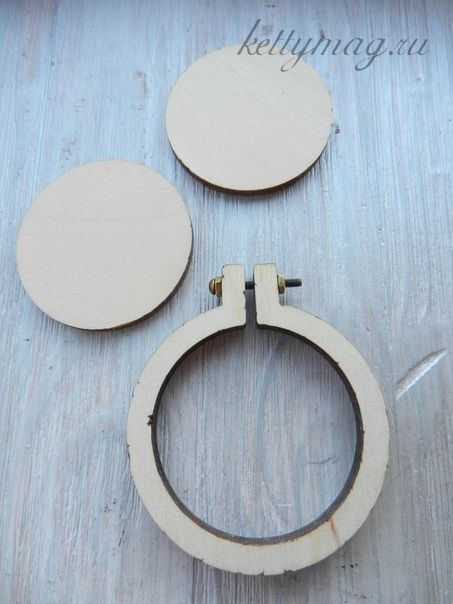 Мини-пяльцы рамка круг