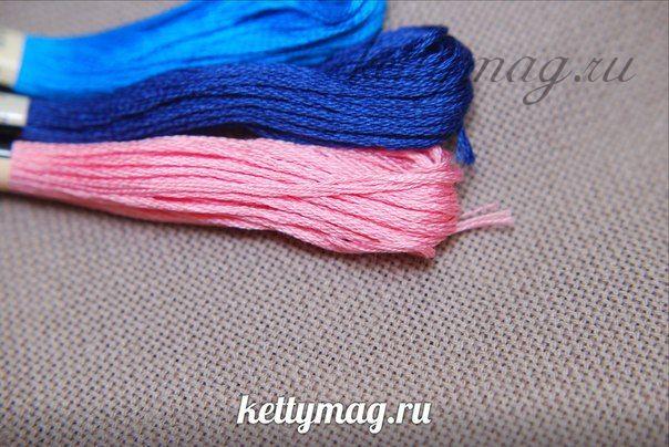 Канва Zweigart Colmar 25ct, цвет №7025 25х25 см