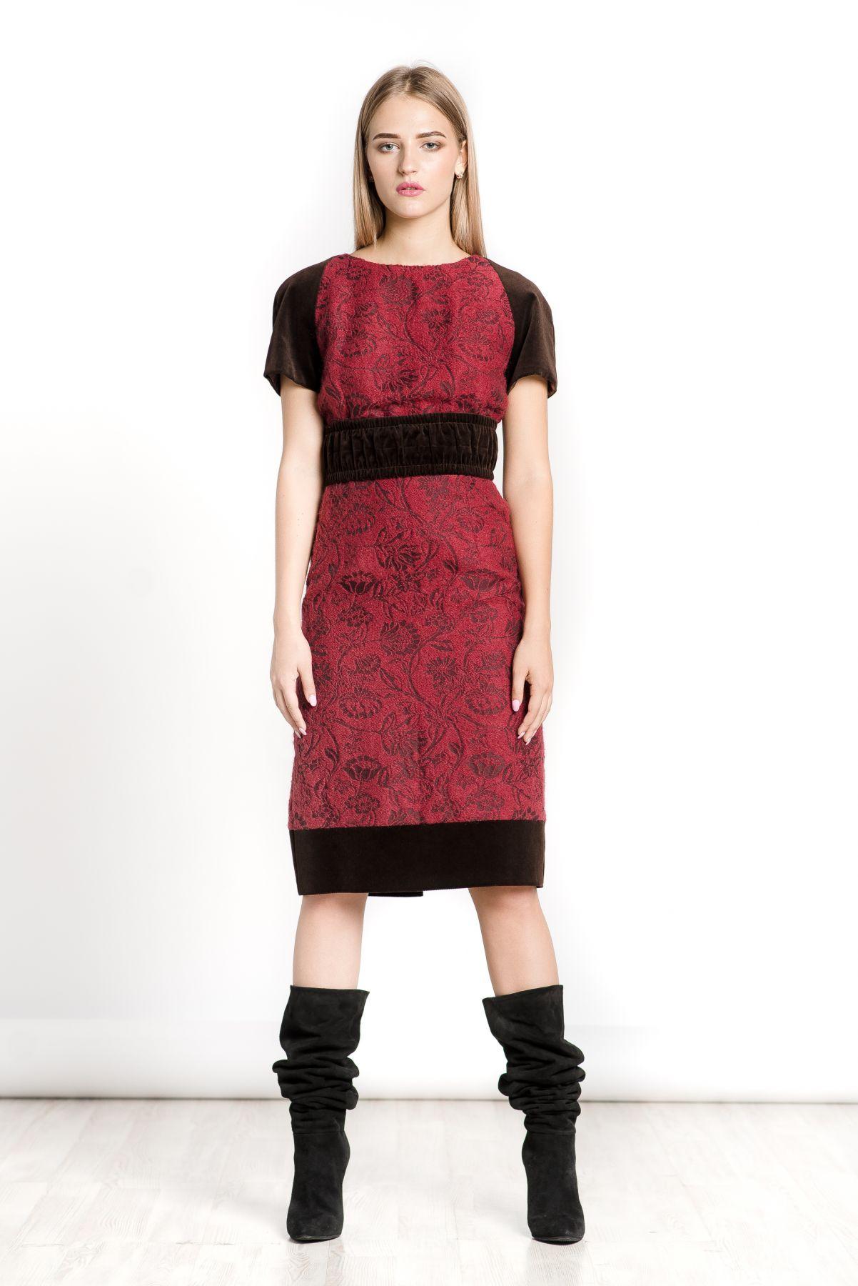 Шерстяное платье, платье футляр, оригинальное платье на каждый день ... 65612742fca
