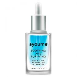 Ayoume Tea Tree Soothing and Purifying Serum 30ml - сыворотка успокаивающая для лица