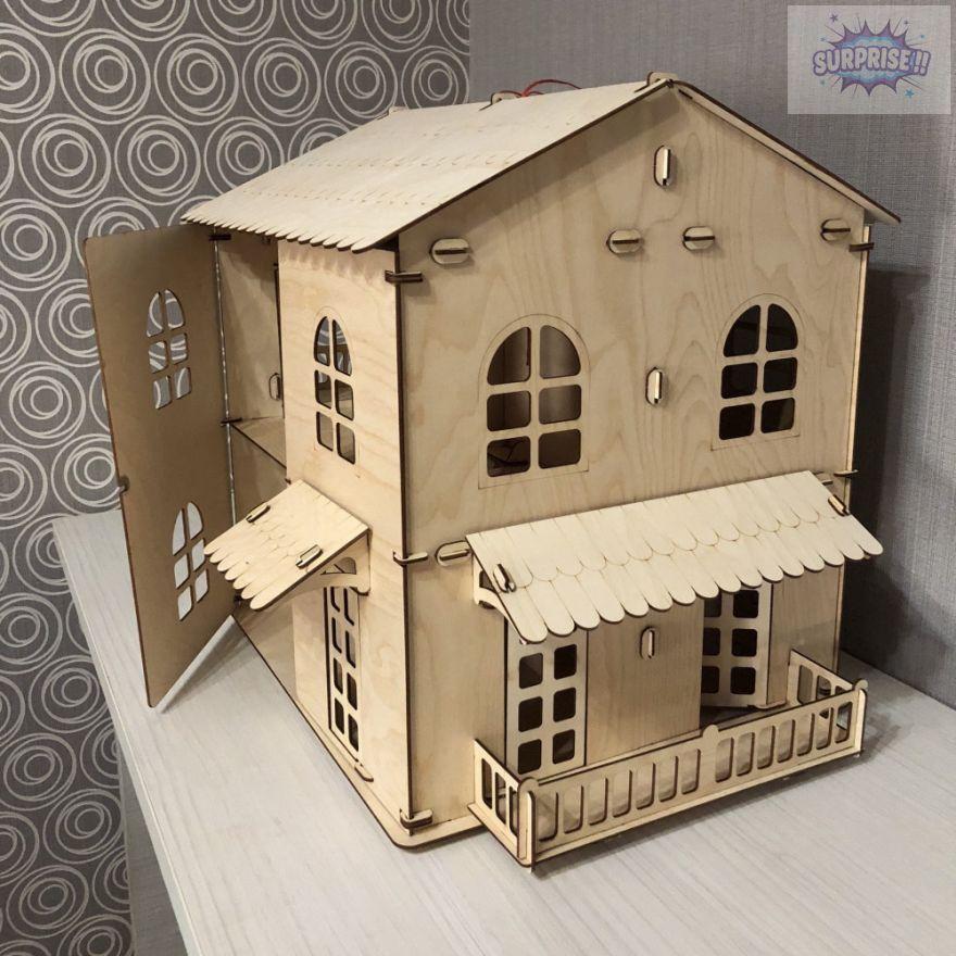 """Кукольный домик """"Мультидом"""""""