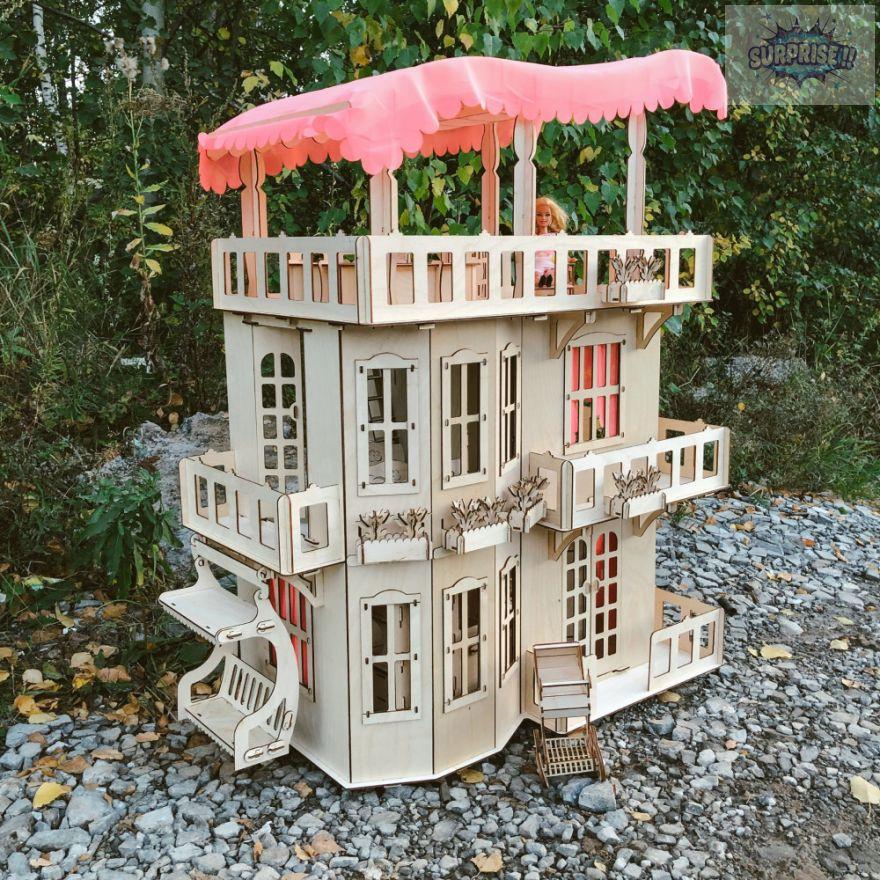 """Кукольный домик """"Чудо-дом"""""""