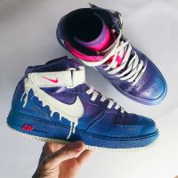"Nike Air Force 1 ""Dirty Sprite""."