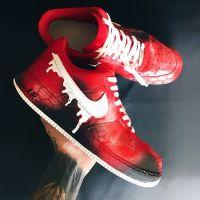 "Custom Nike Air Force 1 ""Cosmo Flux"""