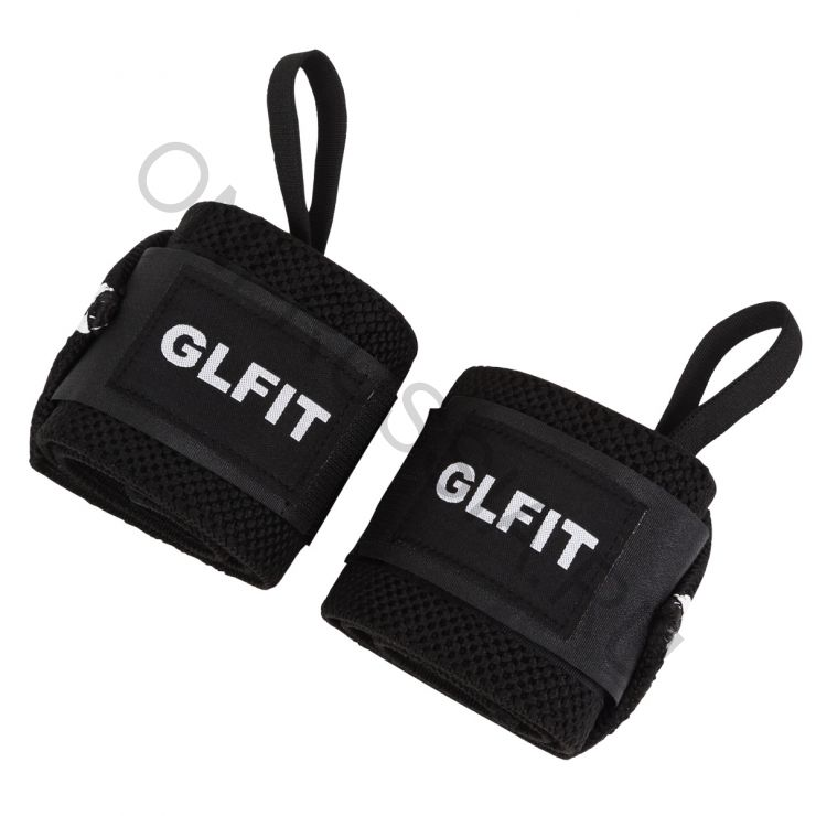 Кистевые бинты GLFIT Wrist Wraps IPF approved