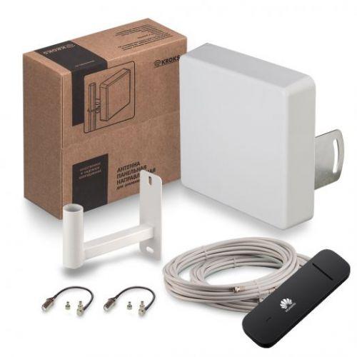 Комплект для усиления 3G/4G сигнала KSS15-3G/4G MIMO + Модем Huawei E3372