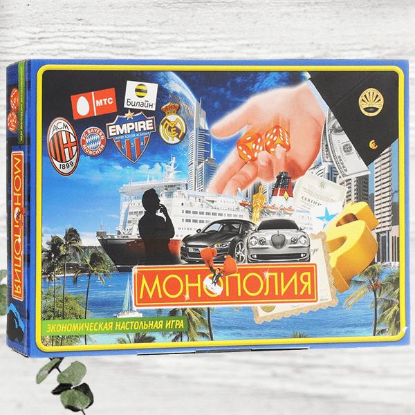 Настольная игра для всей семьи «Монополия»